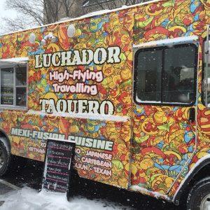 Luchador Taquero Food Truck