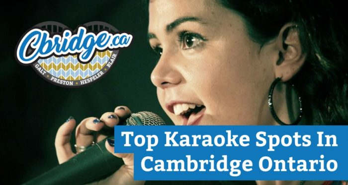 Top Karaoke Spots In Cambridge Ontario