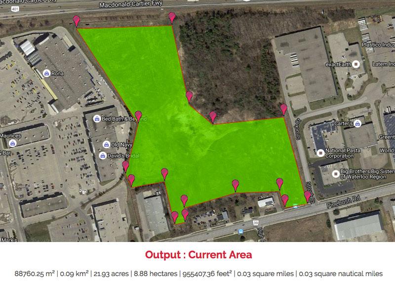 Pinebush Multiplex Location
