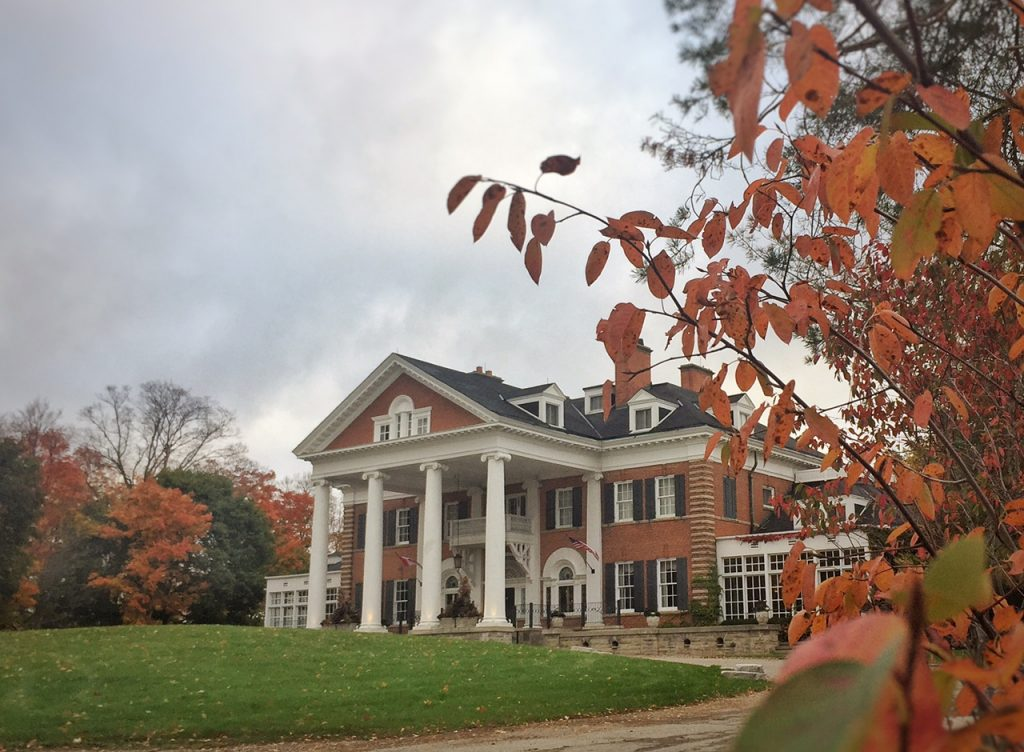 Langdon Hall, Autumn, Cambridge, Blair