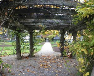 Langdon Hall, Garden, Pergola, cbridge, Blair