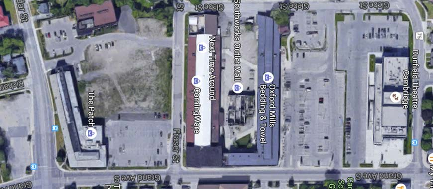 ... Compare The New Gaslight District Blueprints With The Existing Area  Pulled From Google Maps. Note: Slider Image May Not Work If Using An  Adblocker And ...