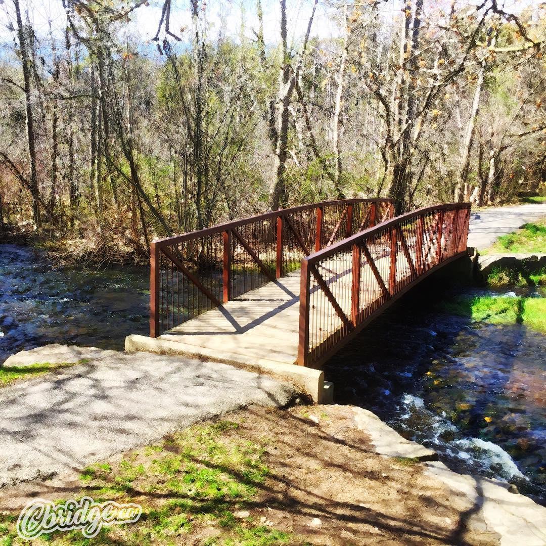 Bridge at Churchill Park