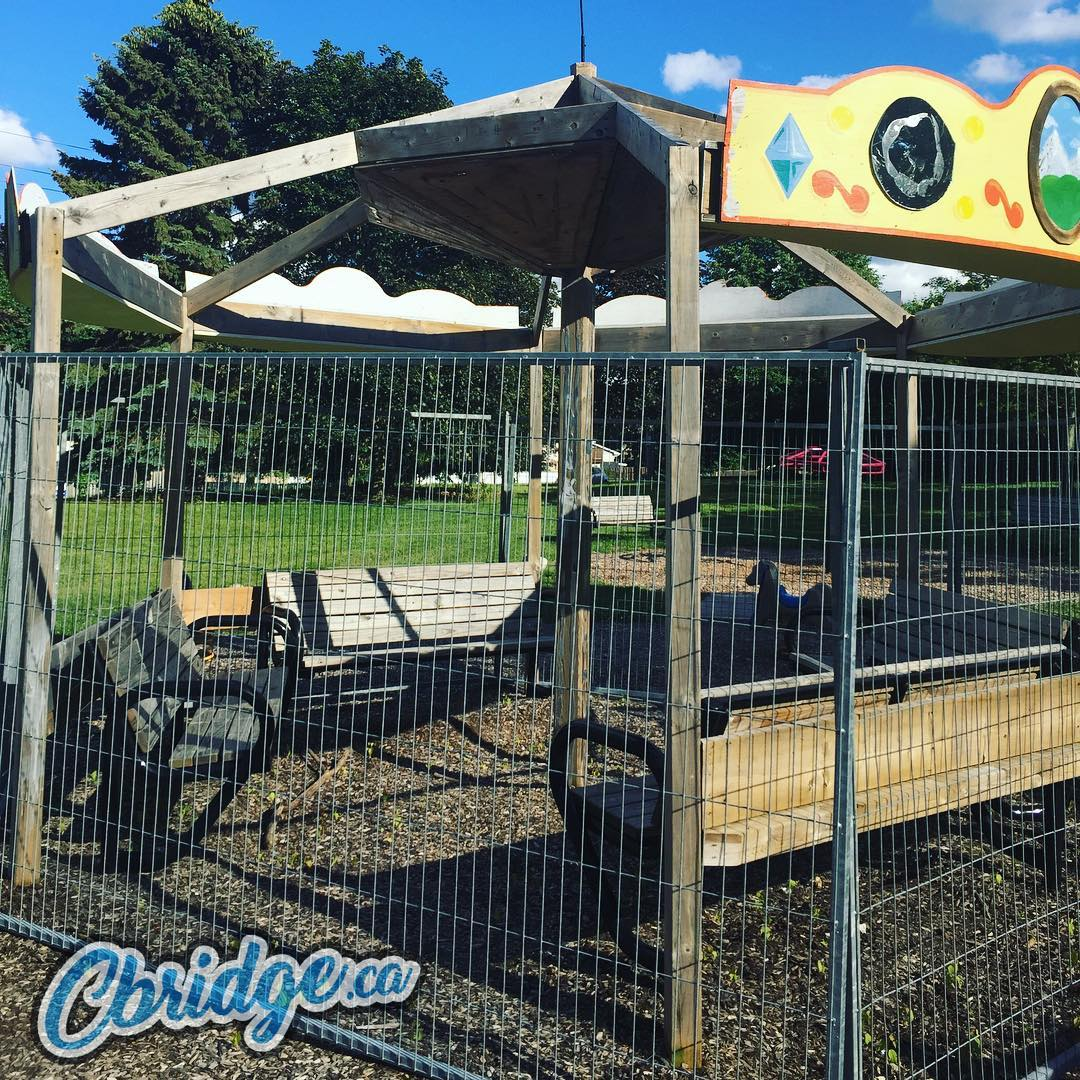Another day, another park with gates up – Bechtel Park