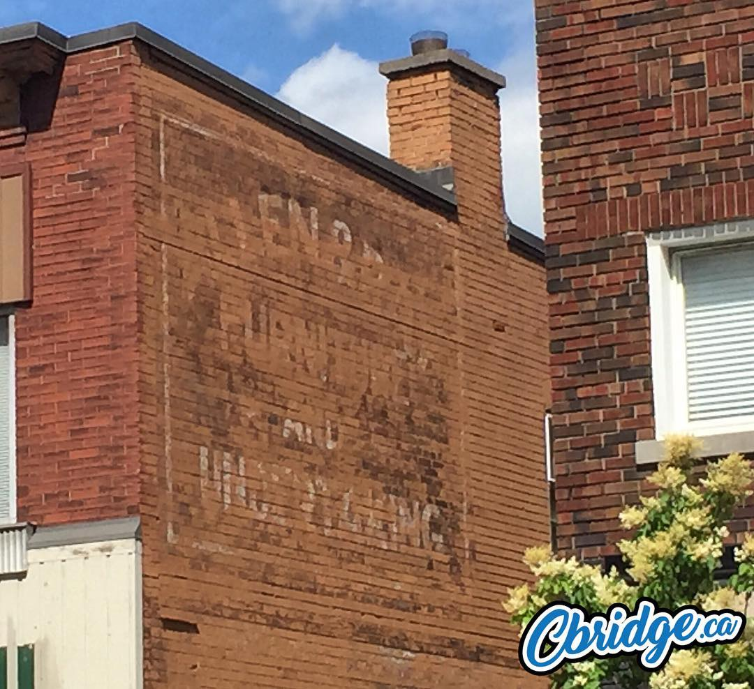Allan Bray Furniture & Undertaking? Anyone know the background in this one? Would love to see it restored #cbridge #mycbridge