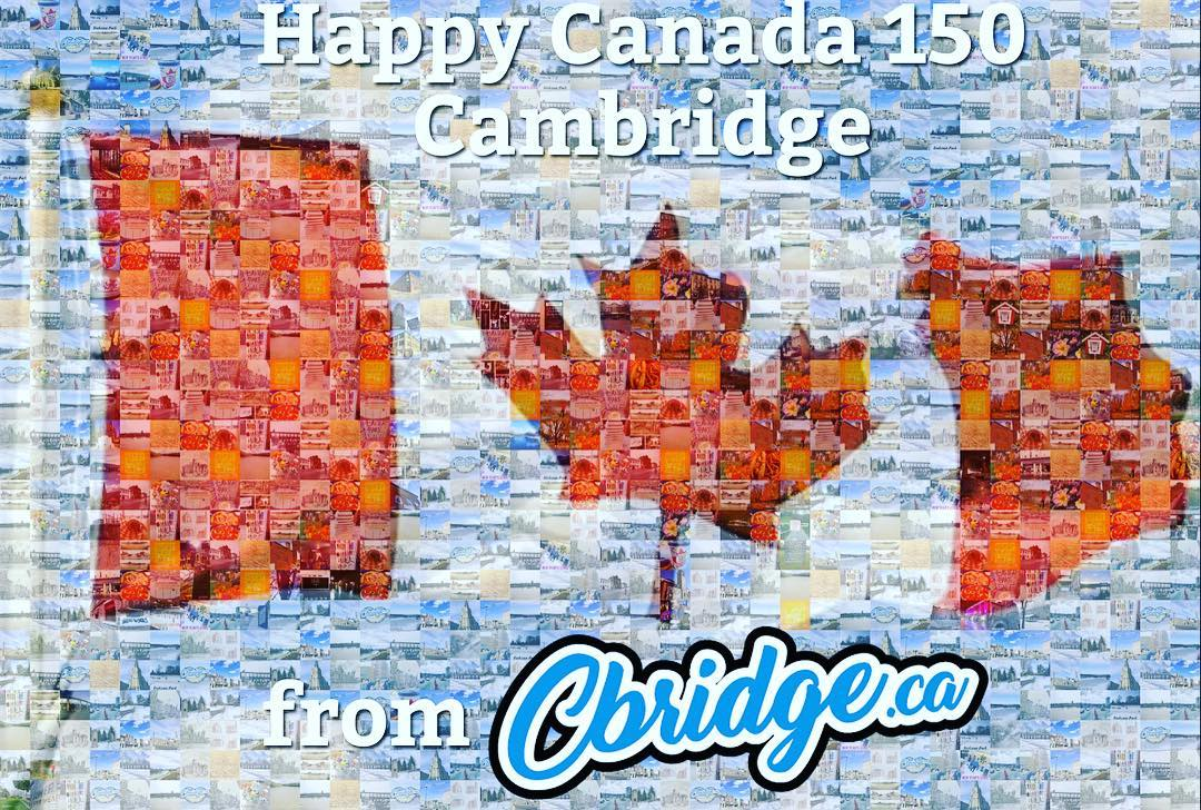 Happy #canada150 Cambridge! #mycbridge #cbridge