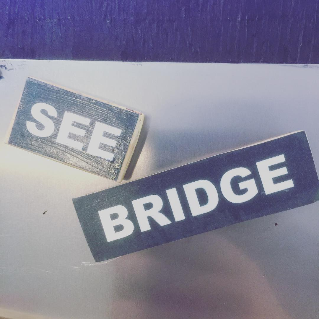 Meh, close enough #cbridge #mycbridge