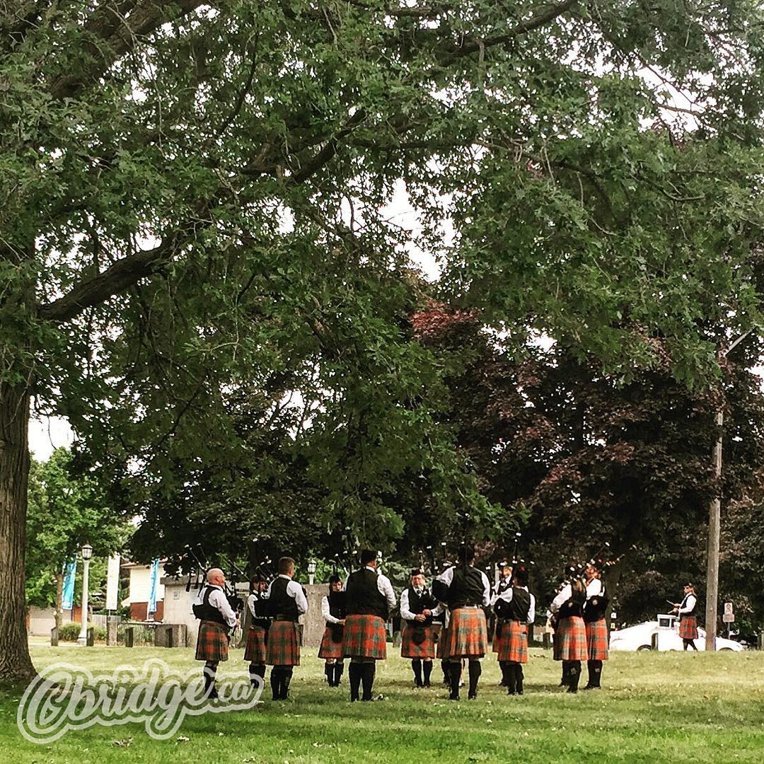 Head to Churchill Park today for @CambScotFest! #highlandgames #cbridge