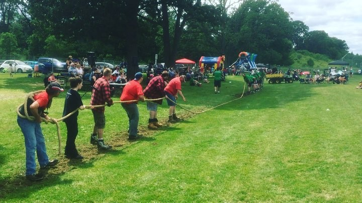 Tug-o-war time at @cambridgescotfest #mycbridge #cbridge