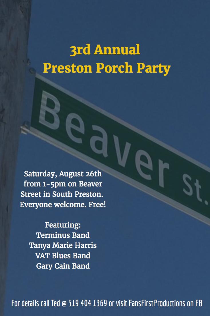 Preston Porch Party