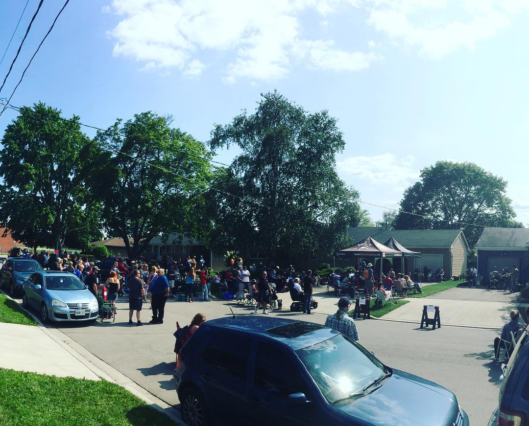 Great turnout at the Preston Porch Party today #cbridge #mycbridge