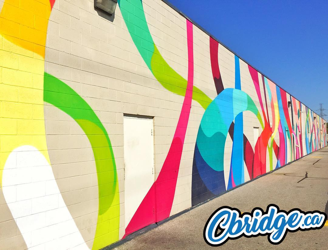 Would love to see more of this on various strip malls in #cbridge. Art makes such a difference. #mycbridge
