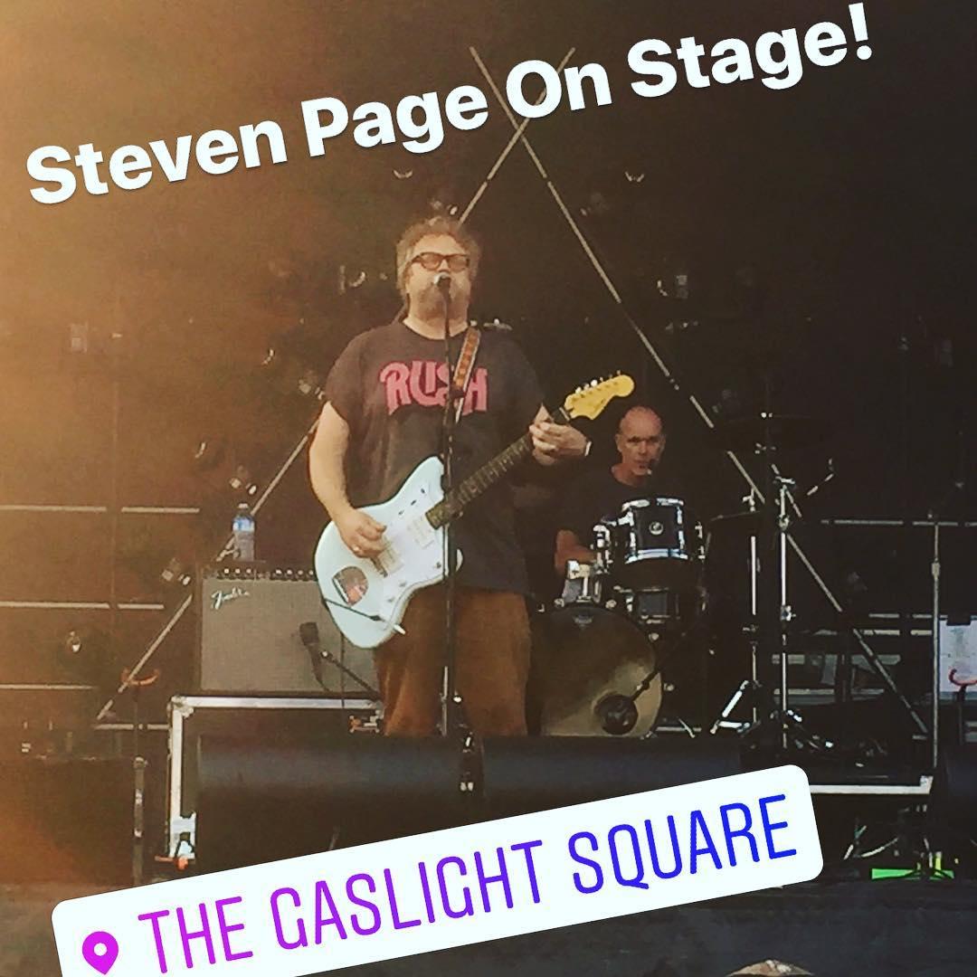 Steven Page in #cbridge #gaslightdistrict