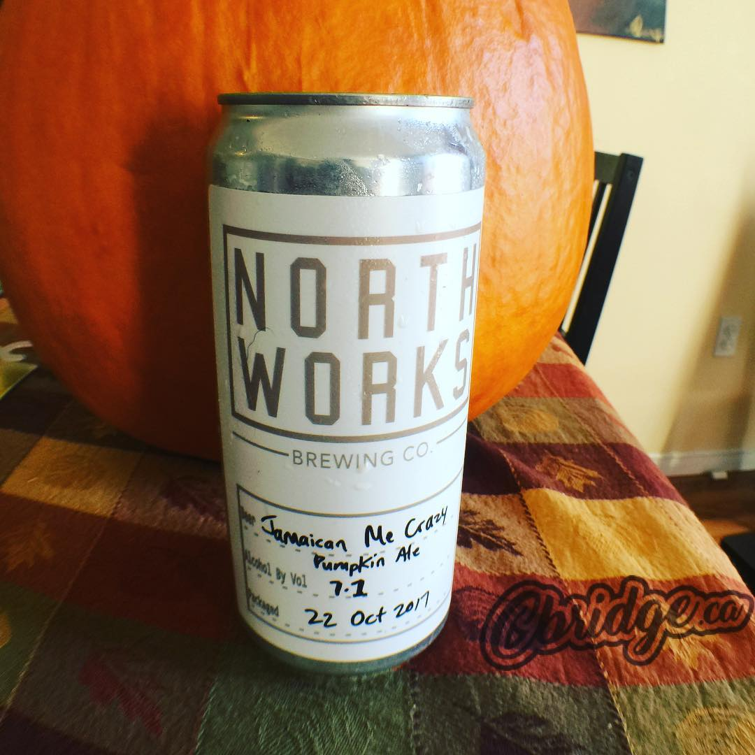 Picked up a @northworksbrewing Pumpkin Ale this afternoon #cbridge #mycbridge