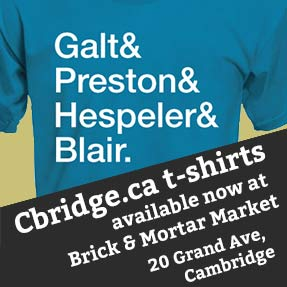 Cbridge.ca tshirts available at Brick & Mortar General Store