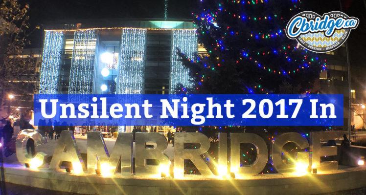 Unsilent Night 2017 In Cambridge