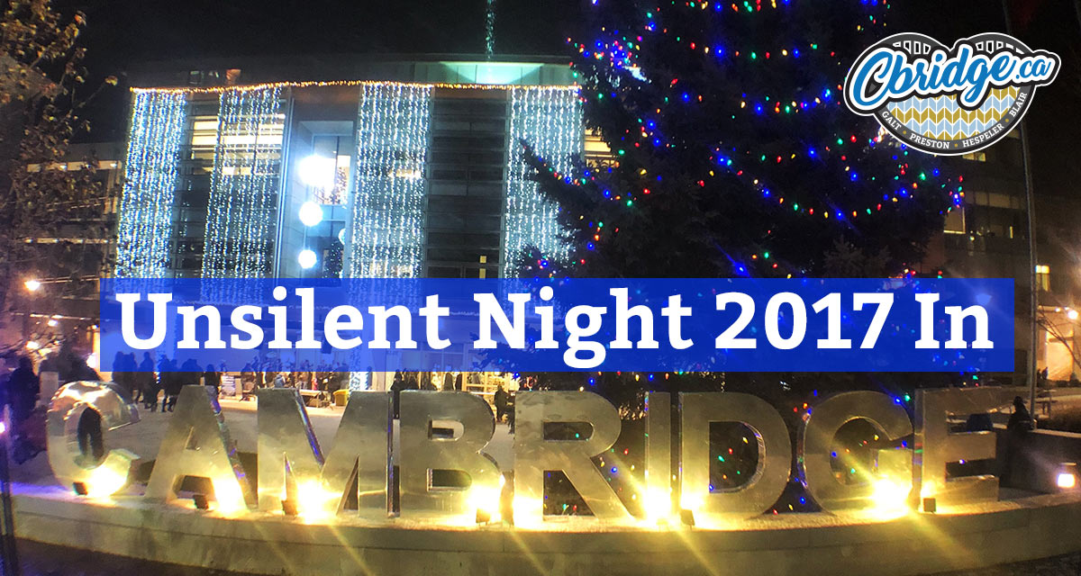 Unsilent Night 2017 In Cambridge