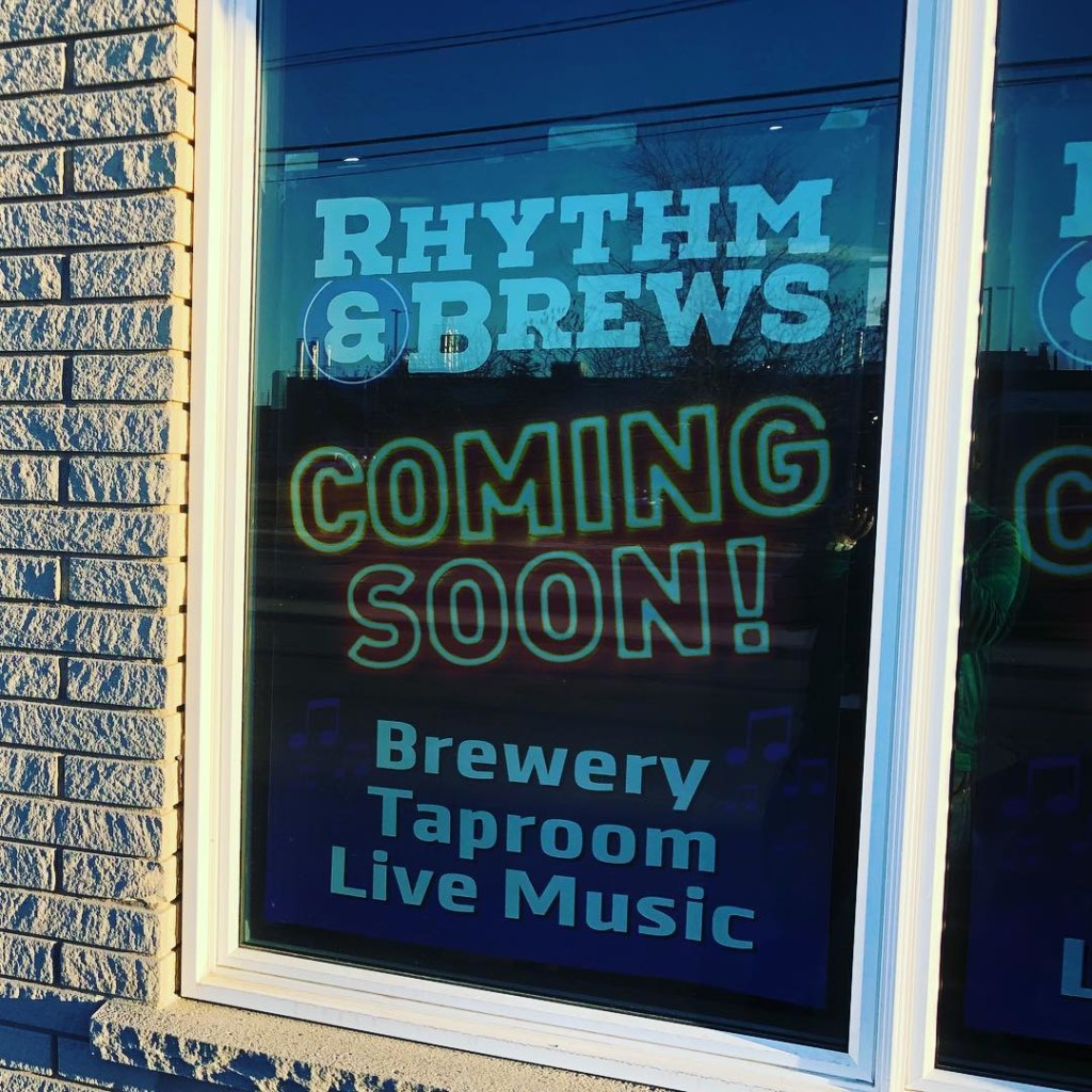 Nice to see @rhythmbrewsbeer making progress here in #cbridge. We are loving this local beer movement! #mycbridge #watreg
