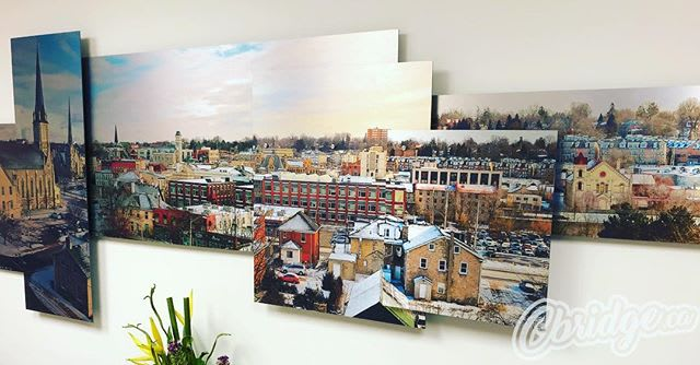 Spotted this gorgeous art print of West Galt recently at @ridgehillford #cbridge #mycbridge