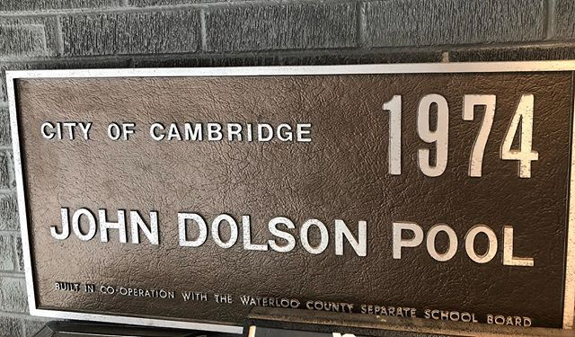 John Dolson Pool: almost as old as Cambridge #cbridge #mycbridge