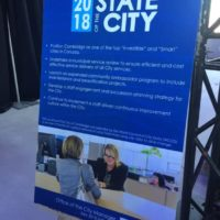 Notes from the Office of the City Manager during the 2018 State of the City Address