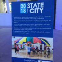 Recap of Corporate Services for the 2018 State of the City Address