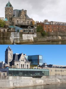 Old Post Office Before and Now