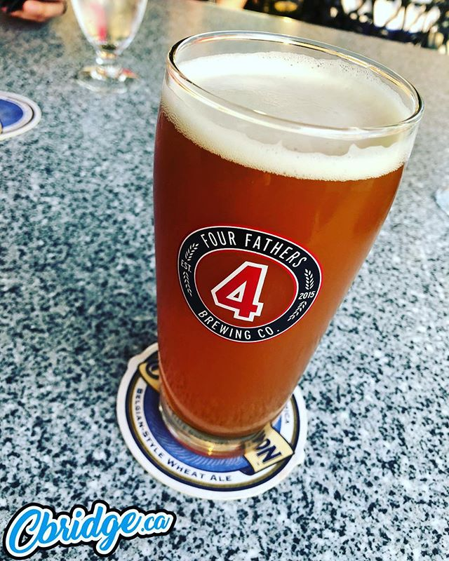 Finally tried a @4fathersbrewing at the @galtcountryclub tonight. Good stuff #cbridge #mycbridge