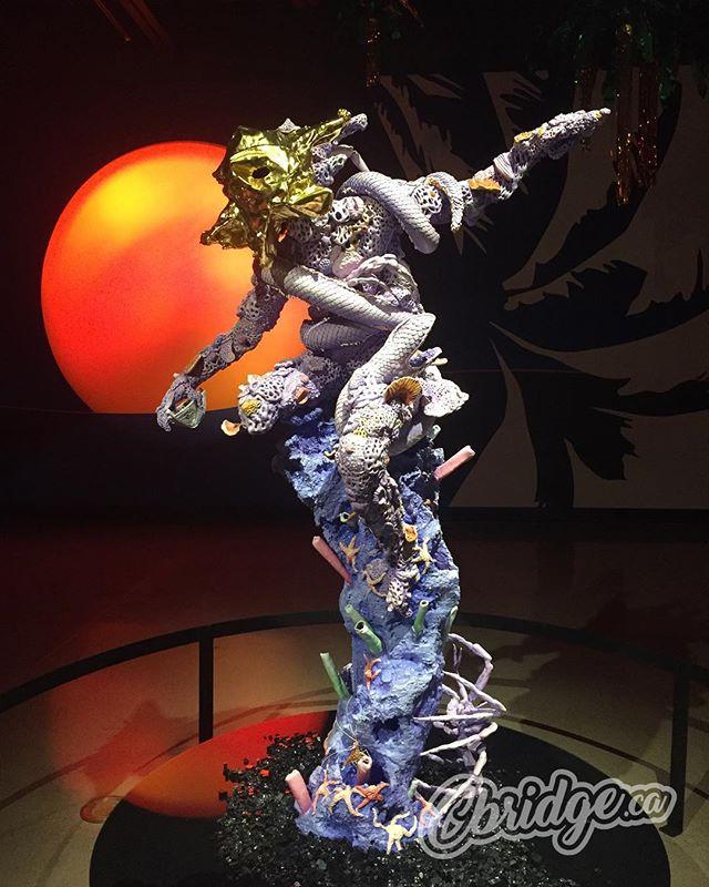 Absolutely stunning exhibit being showcased @idea_exchange Queen's Square Gallery right now #mycbridge #art #daveandjenn @hermeticferns
