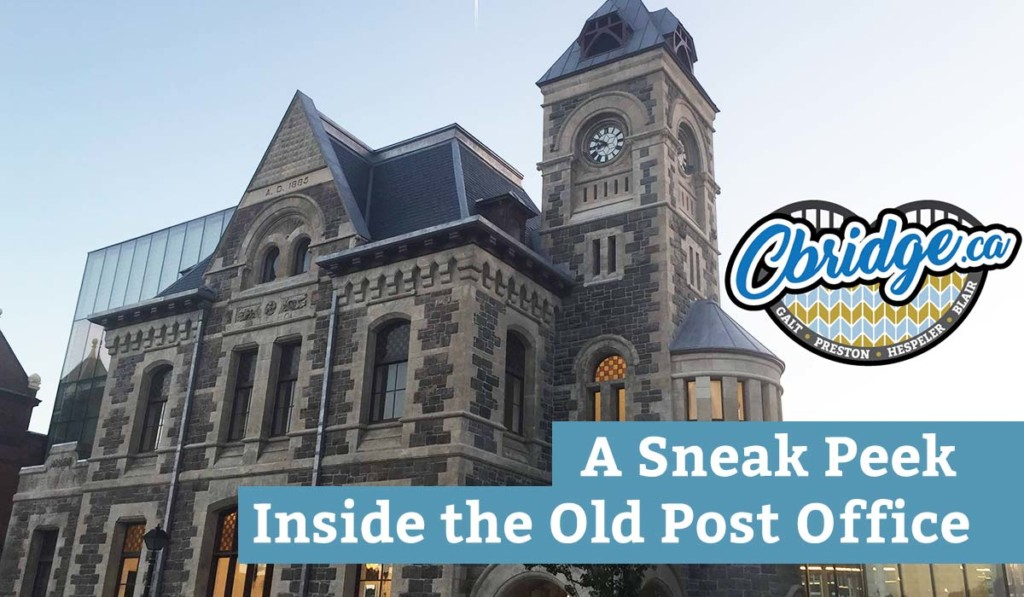 A Sneak Peak Inside the Old Post Office