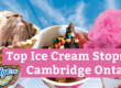 Top Ice Cream Stops In Cambridge Ontario