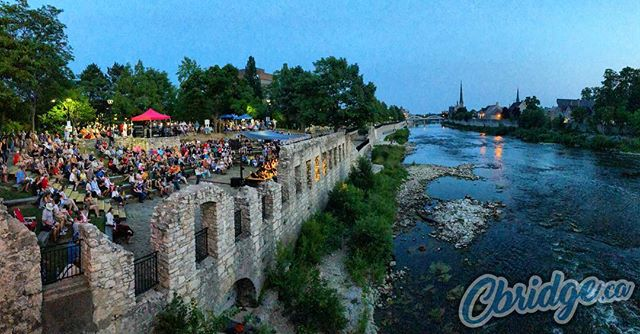 Stopped in for a bit of the Mill Race Festival last night. What a gorgeous evening #cbridge #mycbridge #watreg #galtlove