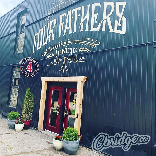 Finally made it over to @4fathersbrewing today. New location looks great ?????? #cbridge #hespeler #watreg