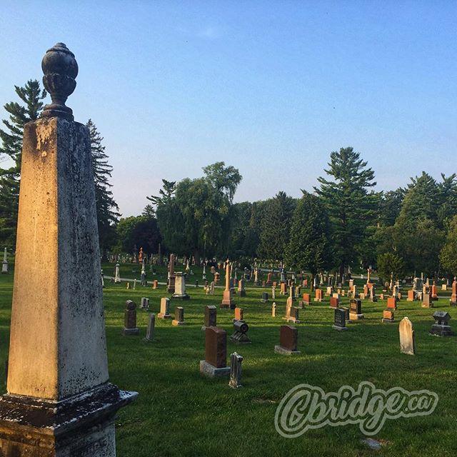 Historic Mount View Cemetery #cbridge