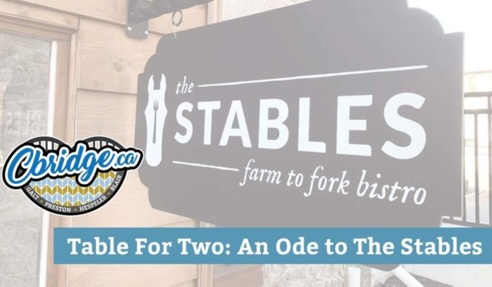Table For Two: An Ode to The Stables