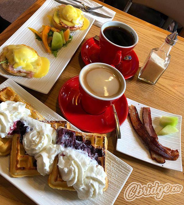 Monigrams for breakfast to brighten a grey Saturday morning #cbridge #galtlove #wreats #eatlocal #howimonigram #watreg