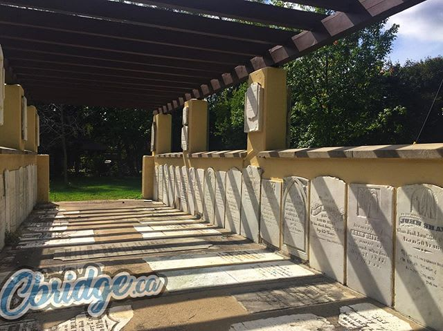 Remembering the past at the Pioneer Pergola #cbridge
