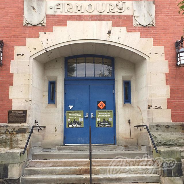 TRIVIA TIME: This door is the entrance to the armoury. What is the official name for this building? #cbridge #mycbridge