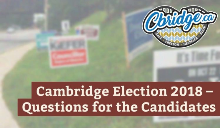 2018 Cambridge Election Questions For The Candidates