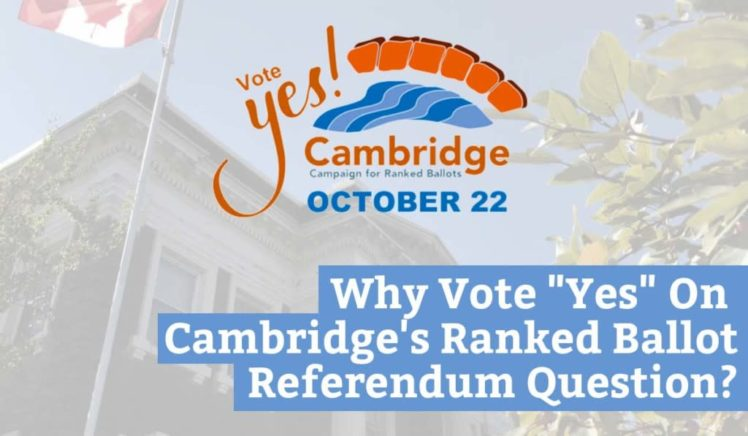 "Why Vote ""Yes"" On Cambridge's Ranked Ballot Referendum Question?"