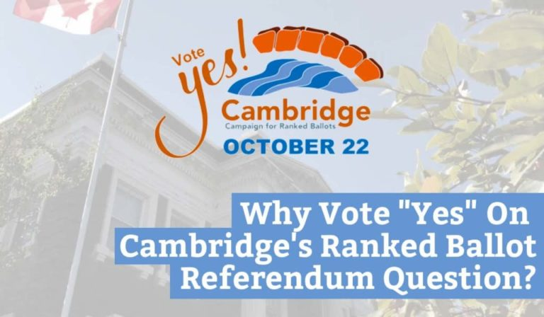"""Why Vote """"Yes"""" On Cambridge's Ranked Ballot Referendum Question?"""