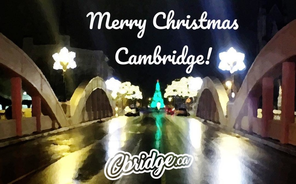 Merry Christmas Cambridge! We hope Santa is good to you this year #cbridge #galtlove