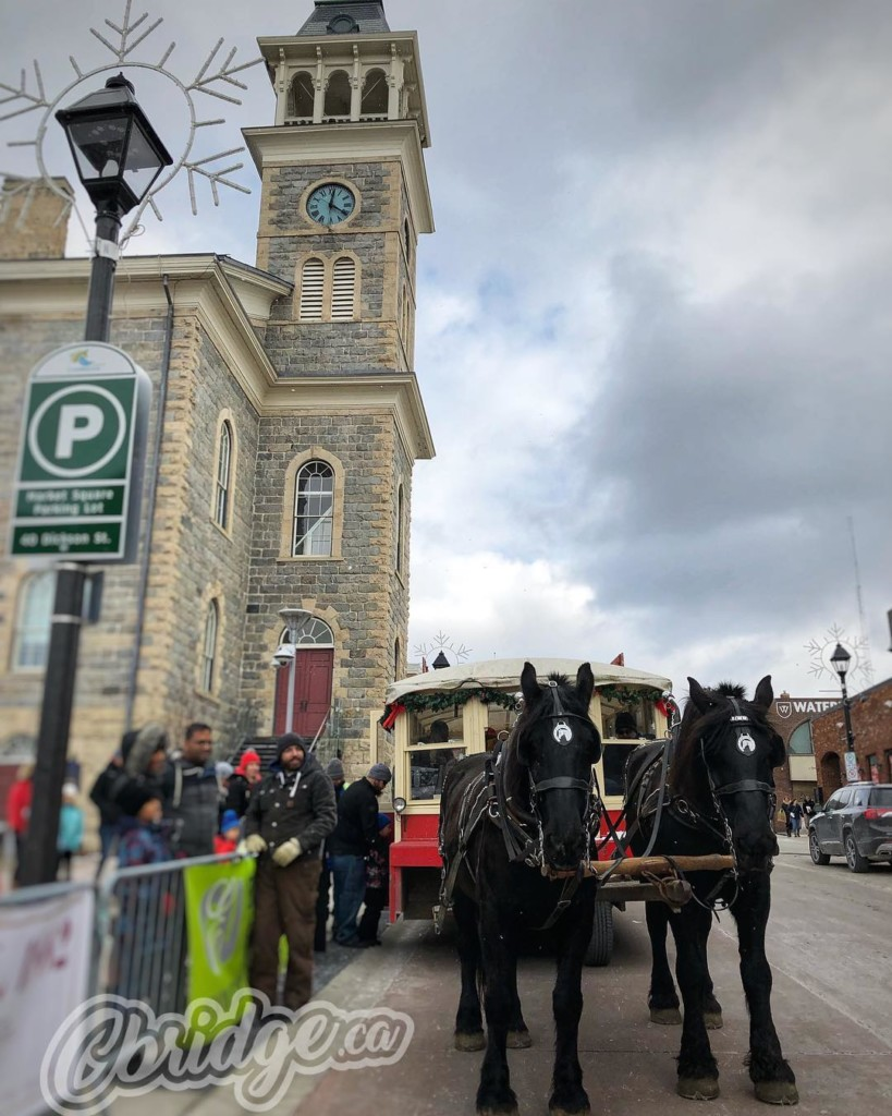 Sleigh bells ring… #cbridge #cinc2018