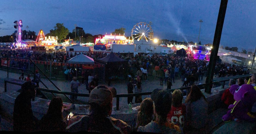 Great night to see I Mother Earth at @thecambridgefallfair  #cbridge #watreg