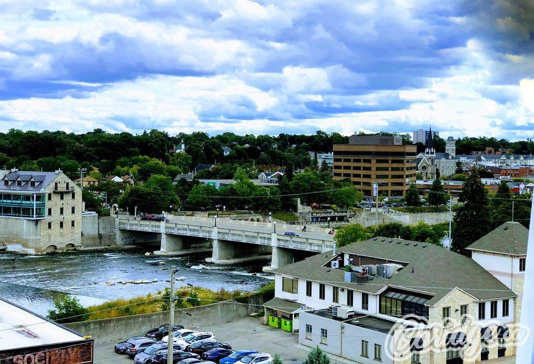 View from the ferris wheel a couple weeks ago #cbridge #watreg #galtlove