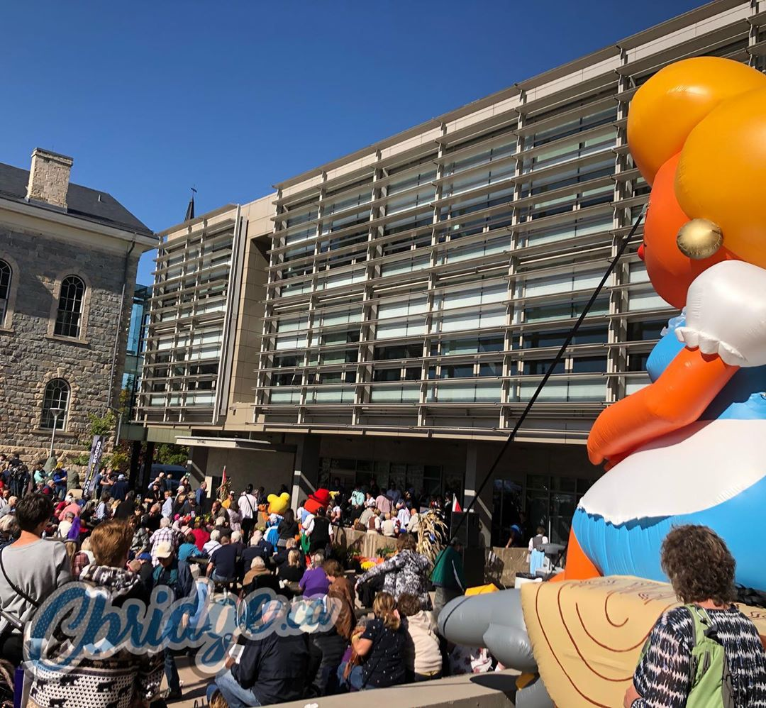 Rolling out the barrel at #cbridge City Hall today! #oktoberfest #WatReg